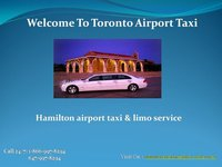 Hamilton airport taxi and Limo Service